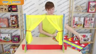 Настольная ширма для кукольного театра ALEX