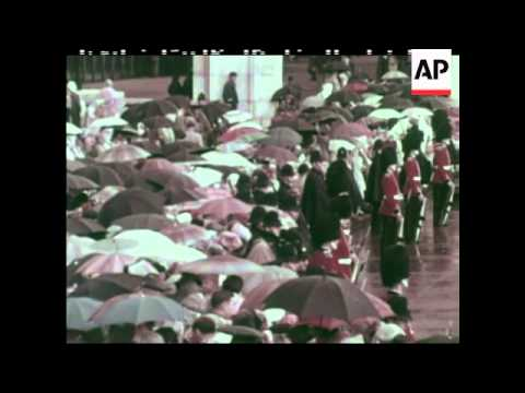 Visit of the King and Queen of Thailand - 1962