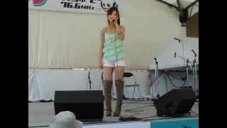 石井杏奈、いしいあんな、広島県出身の可愛い女子高校生シンガー.