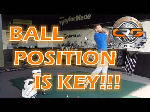 GOLF - BALL POSITION IS KEY