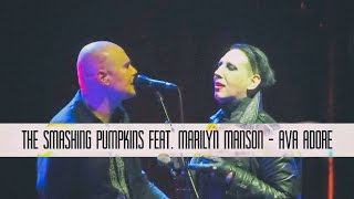The Smashing Pumpkins feat. Marilyn Manson - Ava Adore | multicam