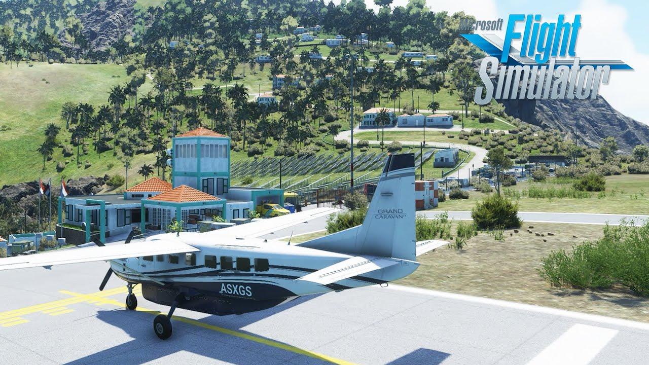 Microsoft Flight Simulator 2020 | To Saba We Go | Hands On Beta Preview!
