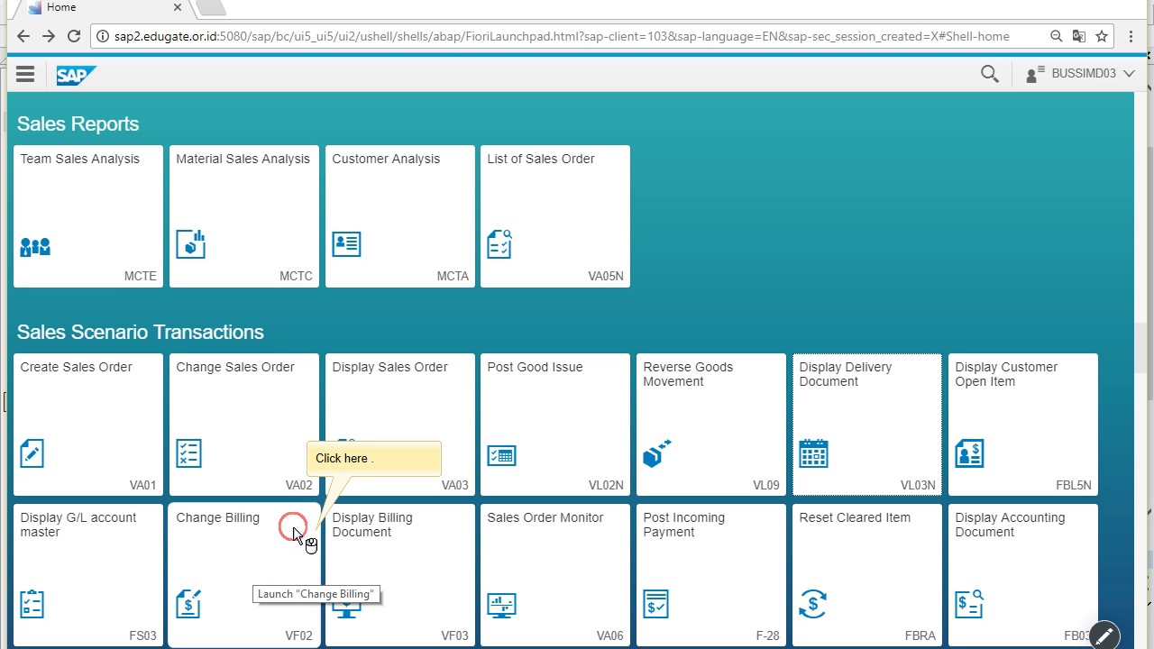 Change Billing by SAP Screen Personas design Fiori