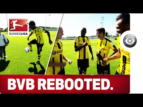 Aubameyang's Skills and Cowboy Dembele - Borussia Dortmund Media Day