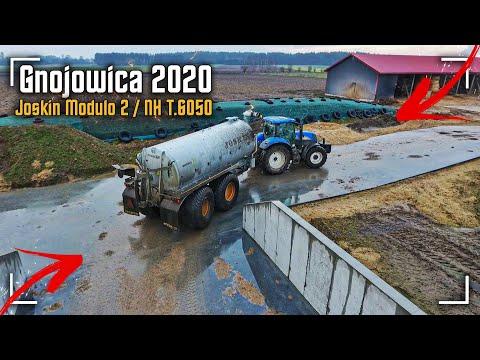 Gnojowica 2020 ☆ Joskin Modulo 2 ✔ New Holland T6050 ☆ Największa Beczka We Wsi ☆