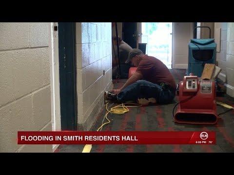ENN: Flooding in Smith Residence Hall