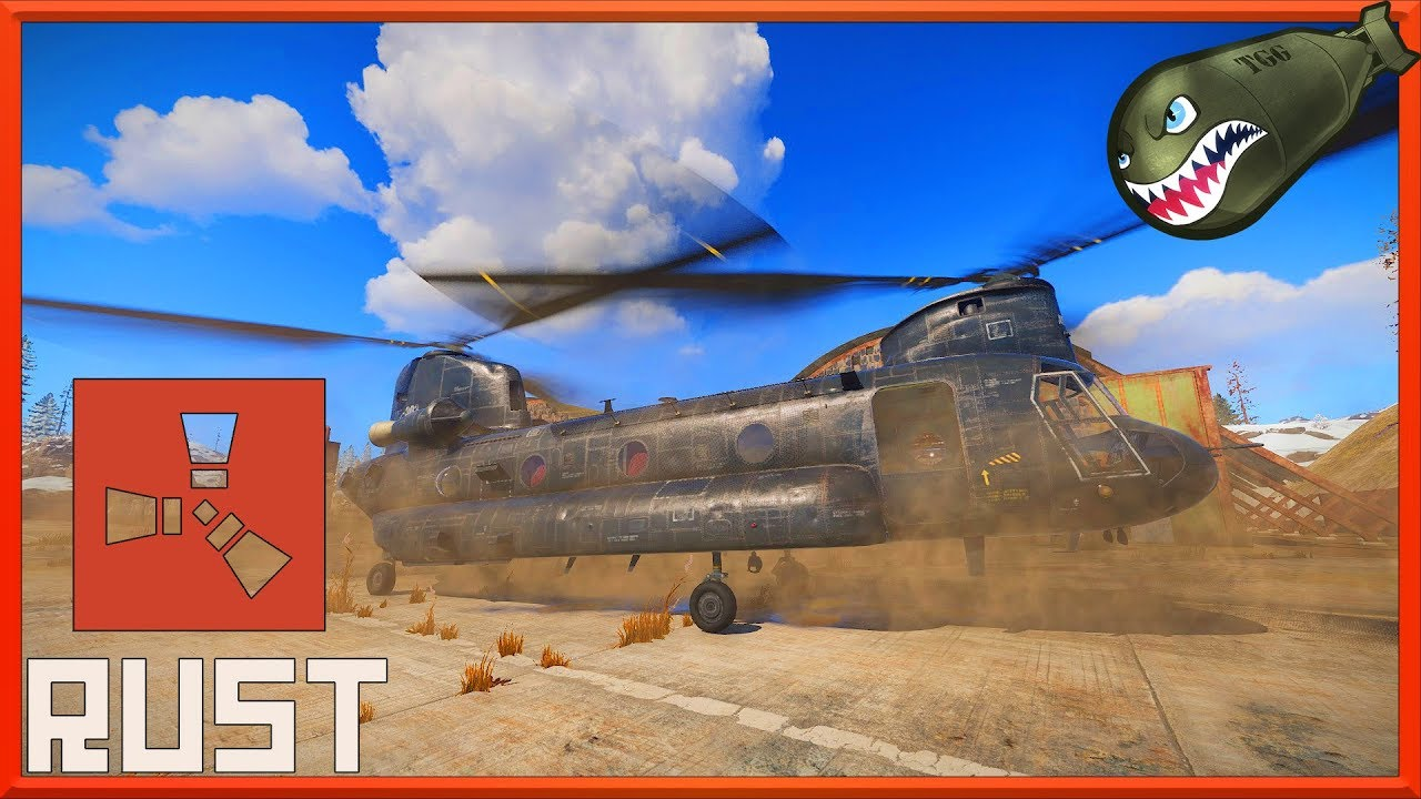 rust helicopter