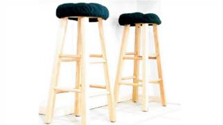 How To : Make Square Bar Stool Covers