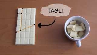 Creare cioccolato dal nulla...!? La soluzione!