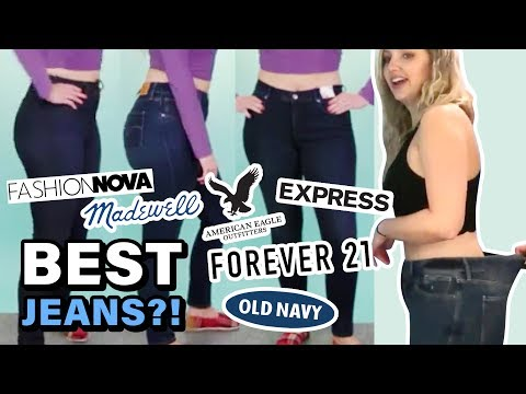 Trying Size 10 At Every Store & Finding The BEST JEANS For Curvy Women