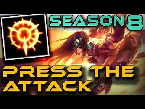 SIVIR: PRESS THE ATTACK | Season 8 RUNES | Gameplay + Guide | Zoose