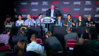TUF Nations Finale: Post-fight Press Conference