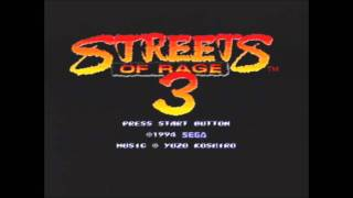 "Streets of Rage 3-""Random Cross"" Stage 3.3 (GEEK Remix)"
