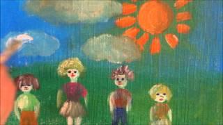Песенка о дружбе, развивающие мультики для детей...