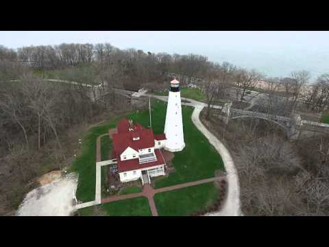 North Point Lighthouse Milwaukee - Phantom 3 Advanced