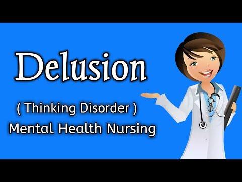 Delusion ( Thinking Disorder in Mental Health Person ) Hindi