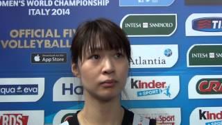 05-10-2014: Saori Kimura nel post Giappone-Rep. Dominicana