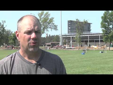 Football Fall Camp - Defensive Ends with Clint Brown (08.17.2015)