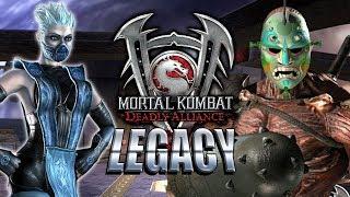 GETTIN' A LITTLE WEIRD: Mortal Kombat Deadly Alliance - Legacy 2019