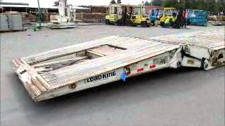 Download Video Sold! Load Trail 503-DFP Hydraulic Folding Gooseneck Trailer bidadoo.com MP3 3GP MP4