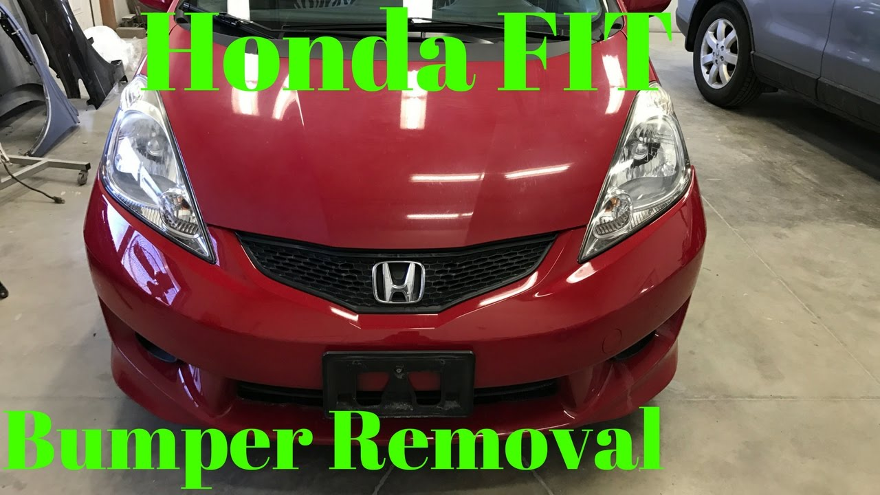 2006 2007 2008 2009 Honda Fit Front Per Removal Replace Intall