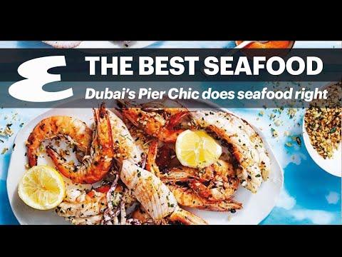 Best seafood in Dubai: Pier Chic Shelebration platter