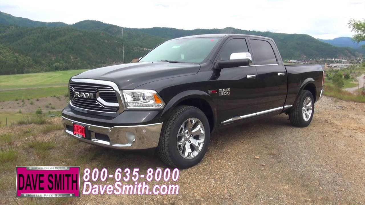 Quick review 2016 ram 1500 laramie limited crew cab 4x4 for Dave smith motors reviews