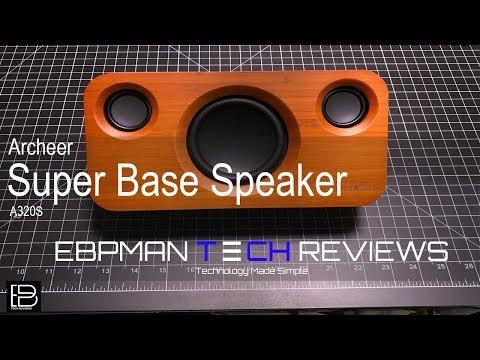 ARCHEER Bluetooth Speaker with Super Bass