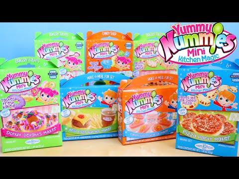 Yummy Nummies Mini Kitchen Magic Kids DIY Food Toys R Us Haul