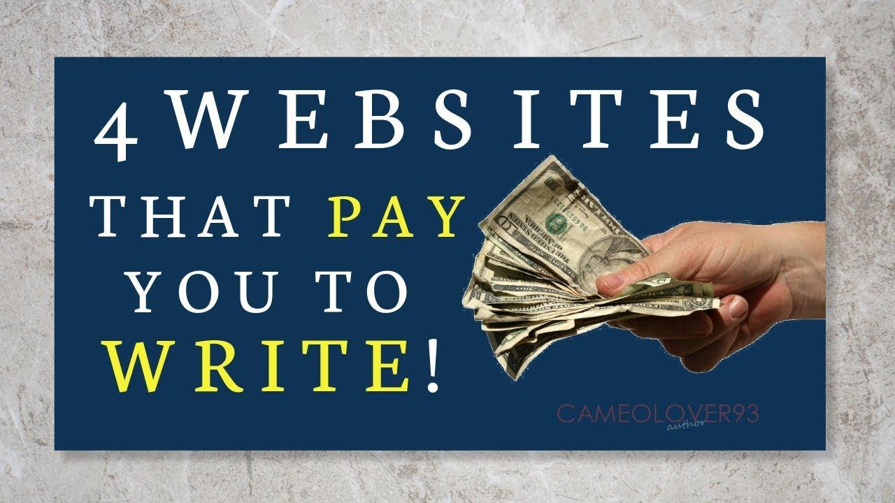 Write Stories  Make Money  | 4 Sites To Use