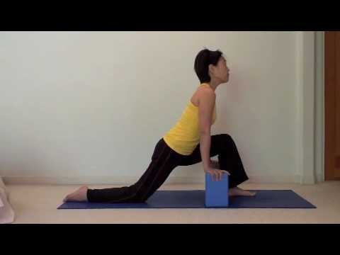easy yoga  hamstring stretch 3 of 4  youtube