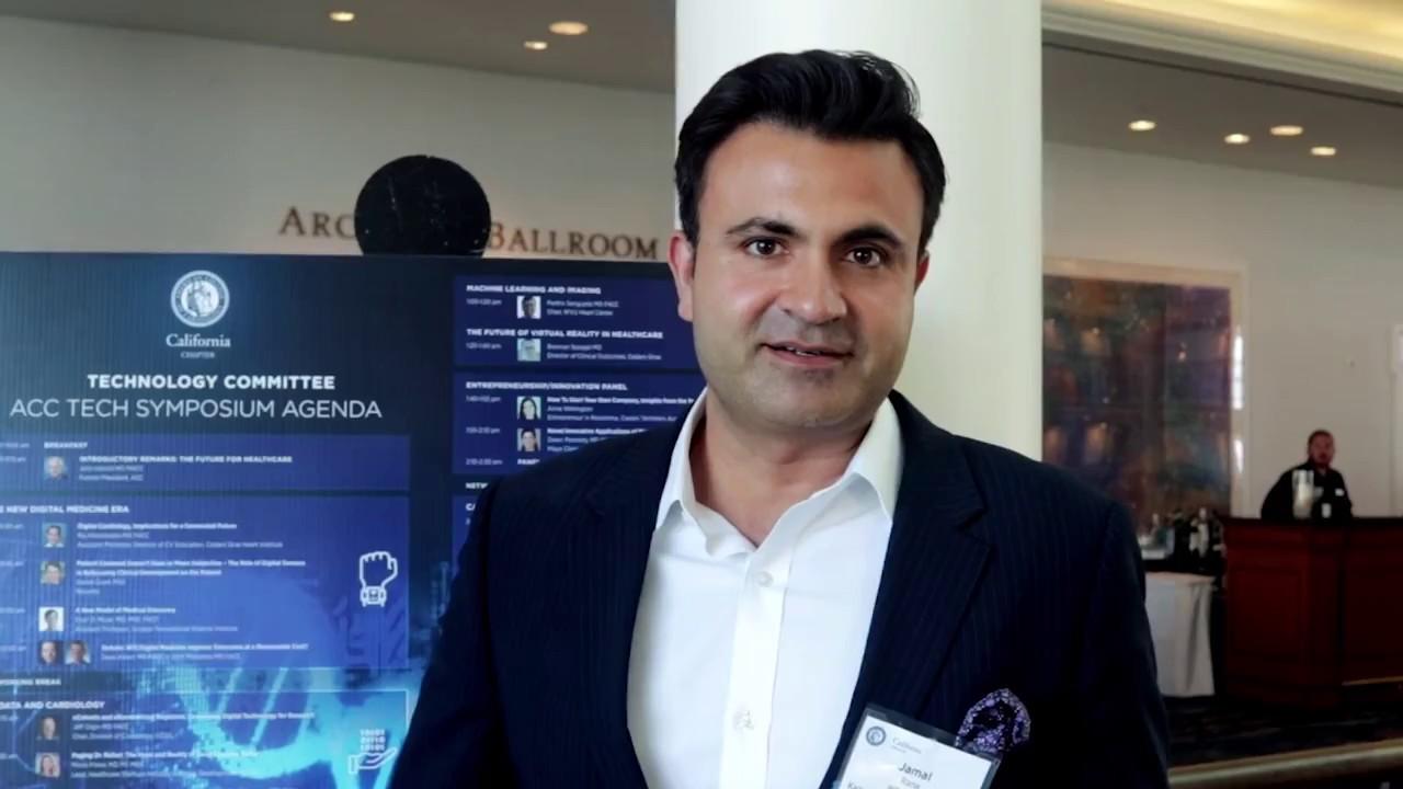 Jamal Rana, MD, FACC, Chief of Cardiology, Kaiser Permanente East Bay, on  CA ACC Tech Symposium 2018