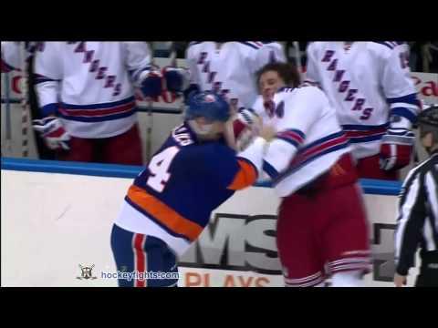 Derek Boogaard vs Trevor Gillies Dec 2, 2010