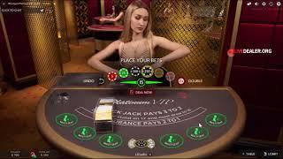 Playing Platinum VIP live blackjack
