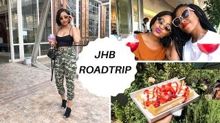 VLOG: Weekend away in JHB