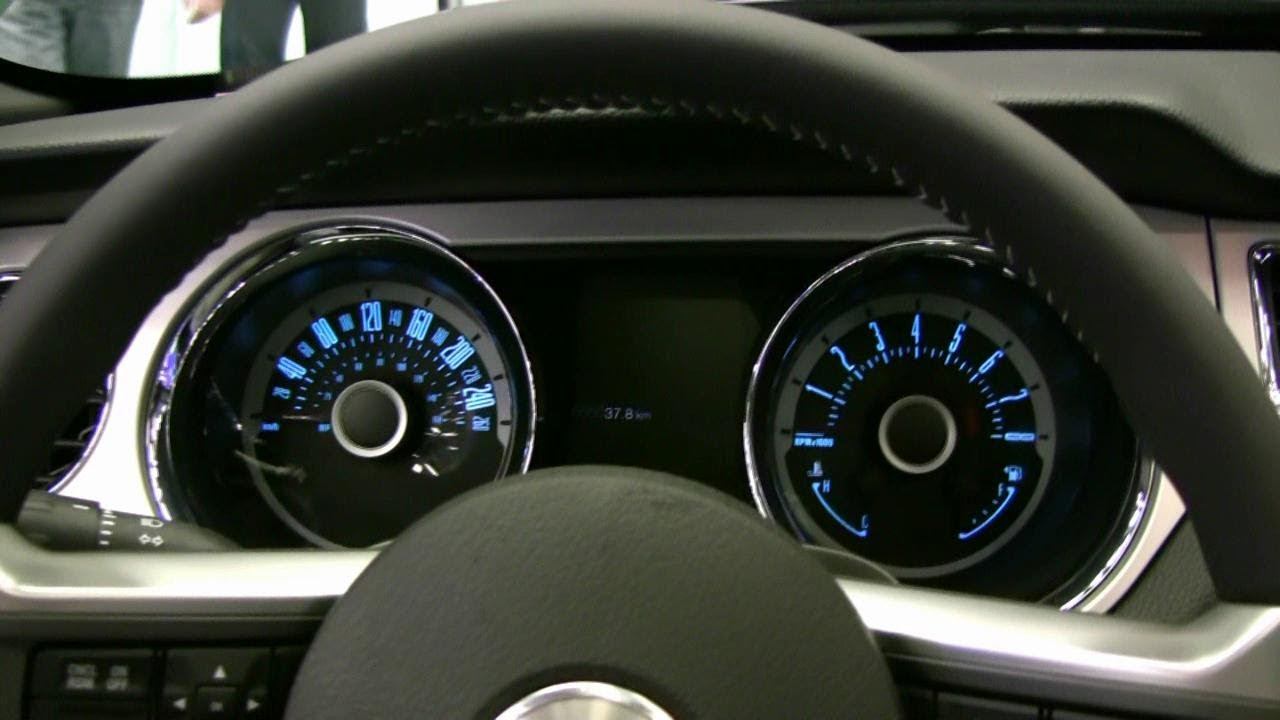 2013 Ford Mustang Gt Interior At 2012 Montreal Auto Show