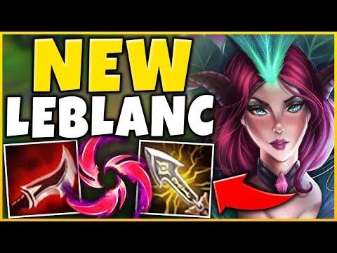 *NEW MECHANIC* THIS ACTUALLY BROKE LEBLANC (LEGIT ZERO COUNTER) - League of Legends