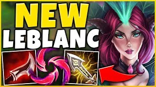*NEW MECHANIC* THIS ACTUALLY BROKE LEBLANC (LEGIT ZERO COUNTER) - League of Legends