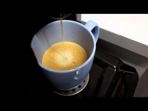 Aldi Expressi with milk instead of water