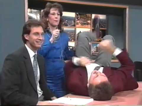 WNEP TV Out Takes, Bloopers, OFF AIR, Jim Coles, 1991