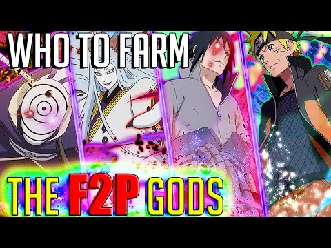 Naruto Blazing's F2P TIER LIST   BEST UNITS TO FARM