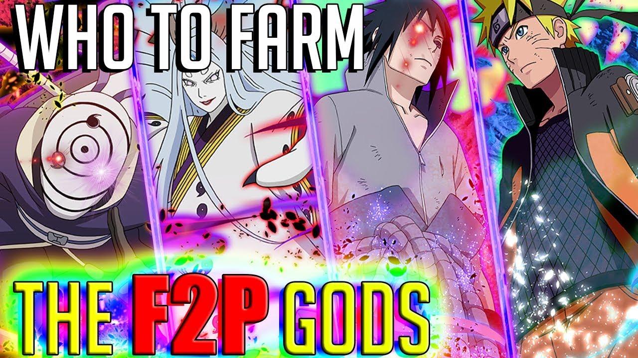 Naruto Blazing's F2P TIER LIST | BEST UNITS TO FARM