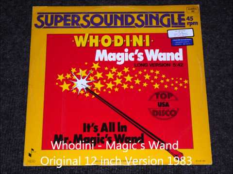 Whodini  Magic´s Wand Original 12 inch Version 1983