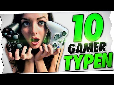 10 GAMER TYPEN!