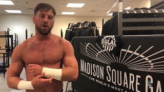 Drew Gulak goes from bingo halls to Madison Square Garden: Exclusive, March 19, 2018 thumbnail