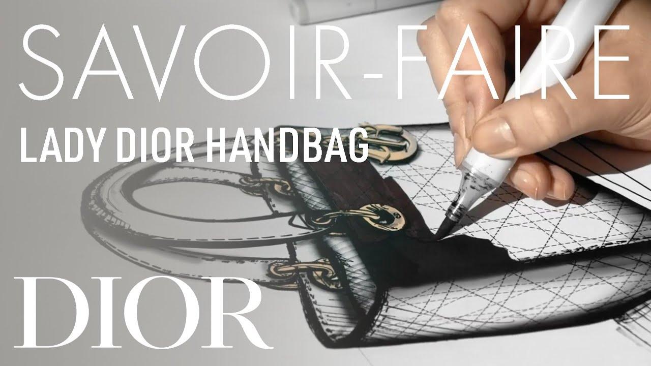 The Savoir-Faire Behind the 'Lady Dior' Handbag