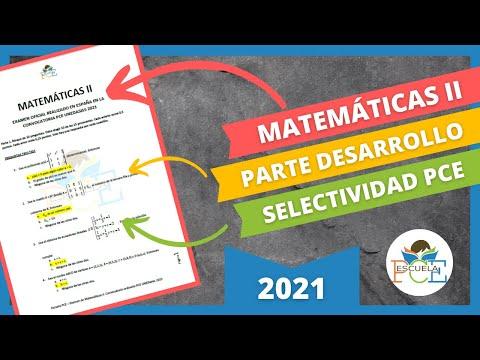 Download ✔️ EXAMEN SELECTIVIDAD PCE MATEMÁTICAS II 2021 (PARTE 2) RESUELTO