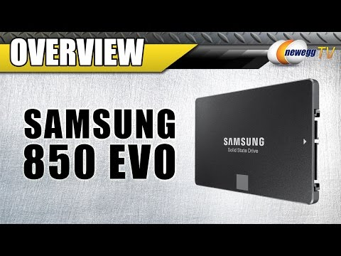 SAMSUNG 850 EVO-Series Overview and Benchmarks - Newegg TV