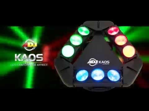 American DJ Kaos LED Centerpiece Effect Light