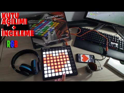 Mini El Pavyonu ! Novation Launchpad MK2 Kutu Açılımı + İnceleme!